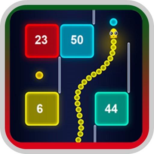 The Snake VS Block: Go Math 18 iOS App