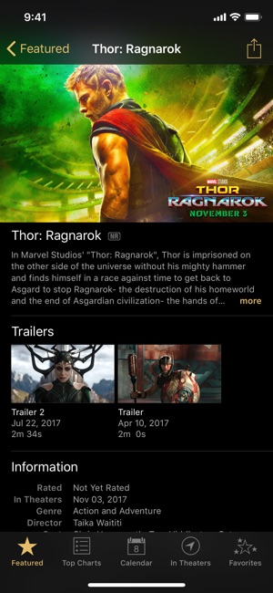 ‎iTunes Movie Trailers on the App Store