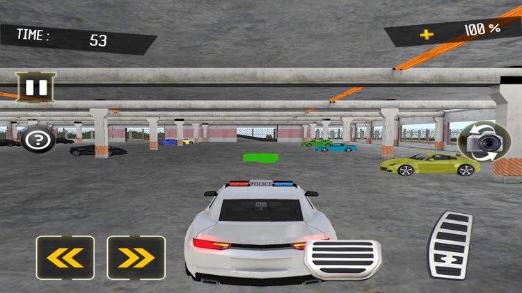 Police Car Parking Sim 2018 screenshot-3