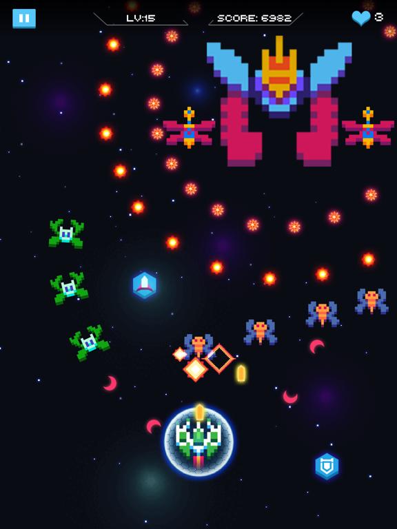 Galaxy Attack - Space Shooter screenshot 9