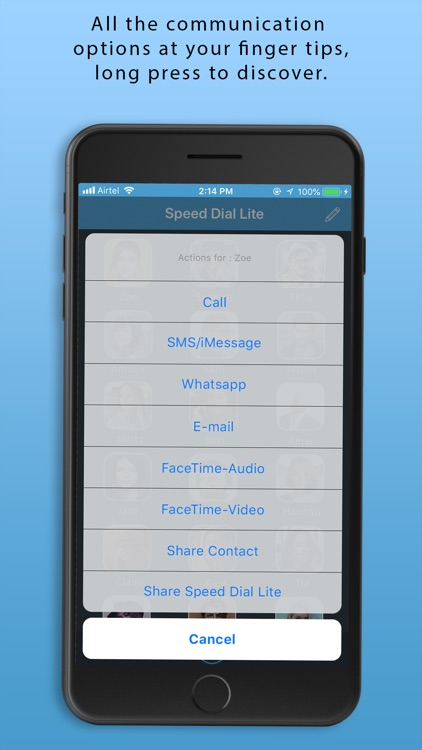 Speed Dial - Lite screenshot-4