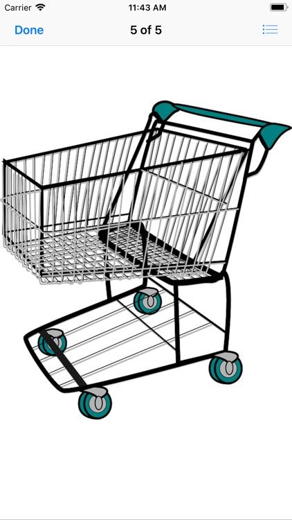 Shopping Cart Stickers screenshot-7
