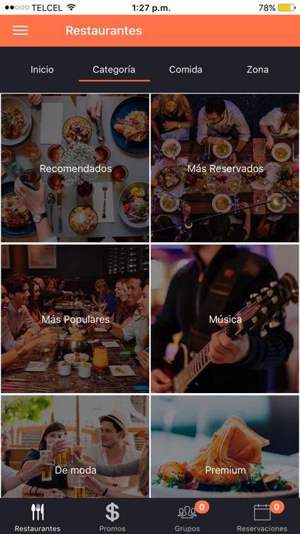 QueMesa - Reserva mesas screenshot-3