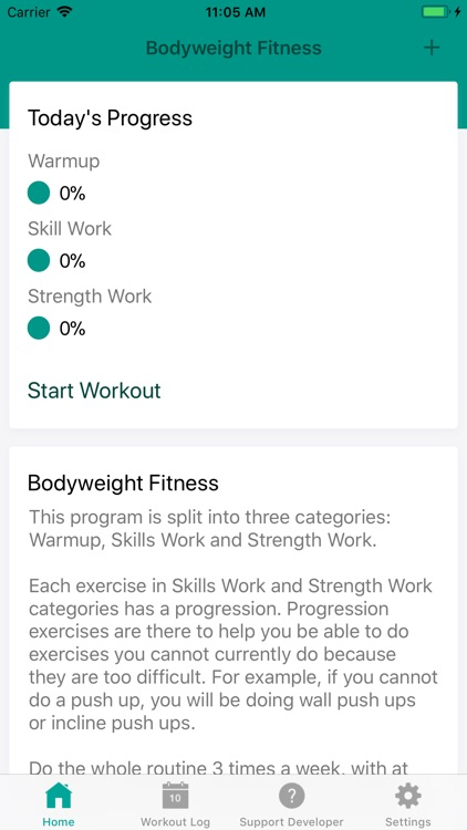 Bodyweight Fitness