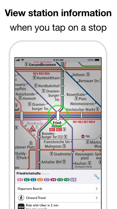 Screenshot for Berlin Subway: BVG U-Bahn map in Sweden App Store