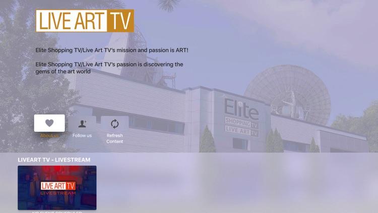 Elite Shopping TV/Live Art TV