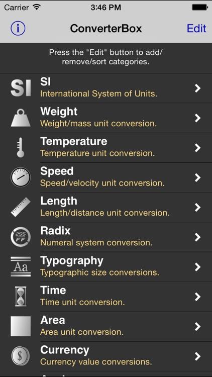 ConverterBox - Unit Converter