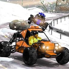 Activities of Buggy Car Snow Downhill Racing