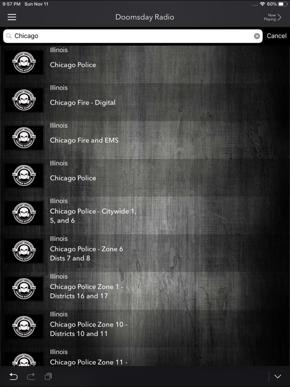 Doomsday Radio: Police Scanner IPA Cracked for iOS Free Download