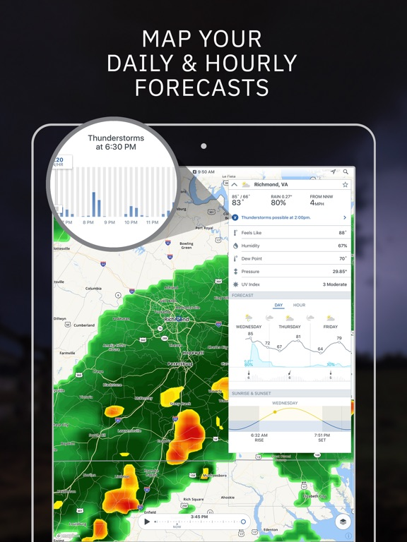 Storm - Weather radar & maps screenshot 6