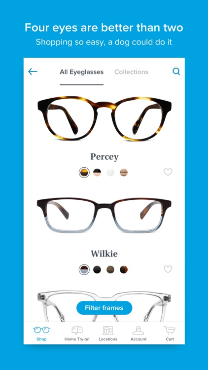 Glasses by Warby Parker screenshot-1