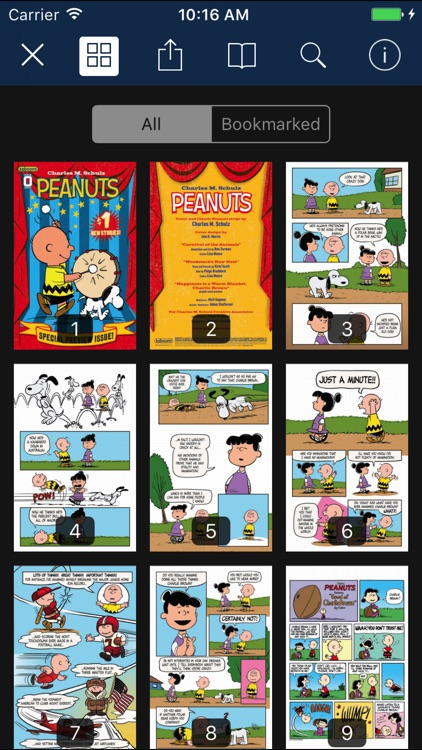 Peanuts comics by KaBOOM!