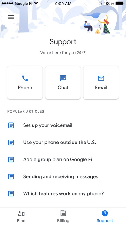 Google Fi screenshot-2