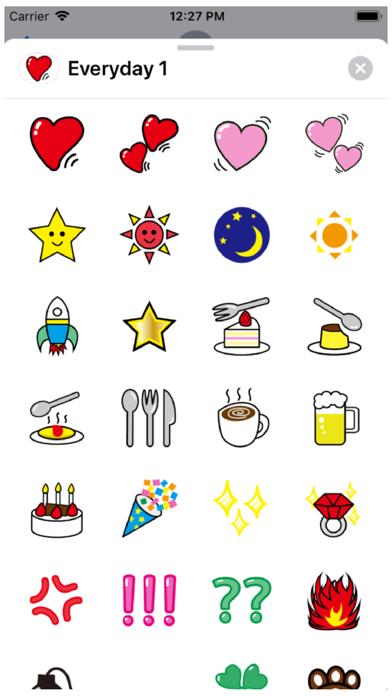 Everyday 1 Stickers Screenshot