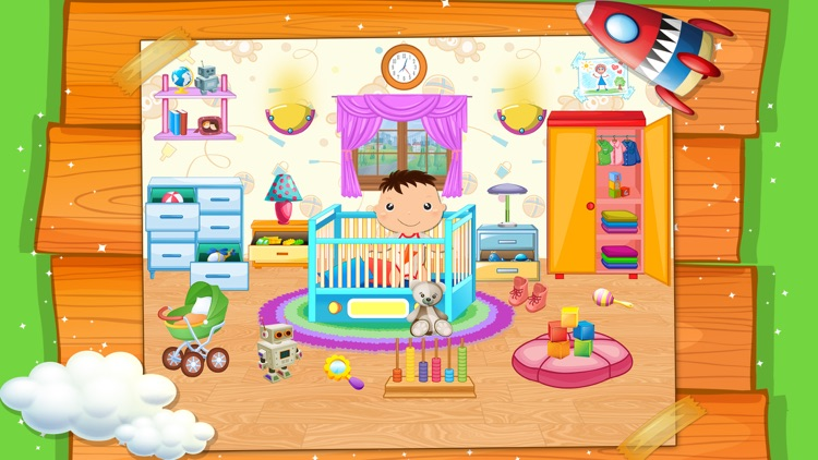 My Baby Doll House Town Play