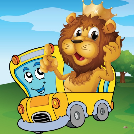 Animal Car Puzzle: Jigsaw Picture Games for Kids