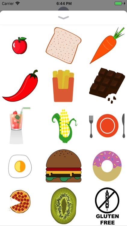 Food Stickers - 2018
