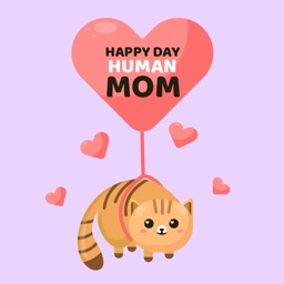 I Love Mother's Day Stickers