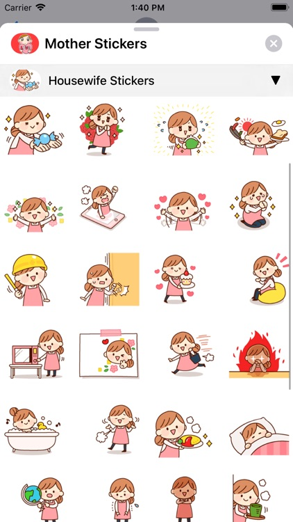Mother Stickers