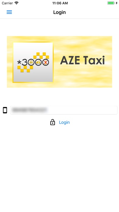 Screenshot for *3000 Taksi (Aze Taxi) in Azerbaijan App Store