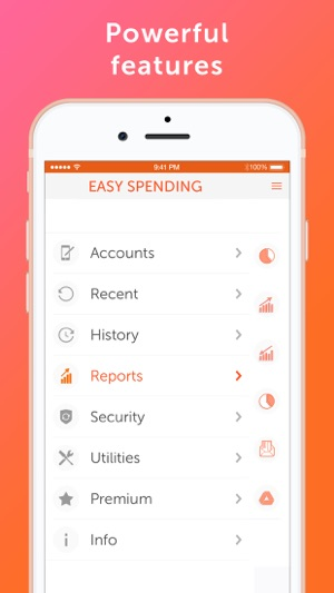 Easy Spending, Expense tracker Screenshot