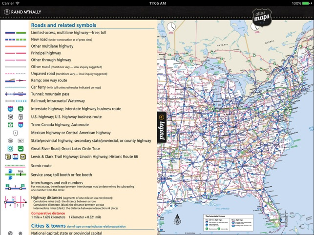 Rand mcnally road atlas en app store rand mcnally road atlas en app store gumiabroncs Images