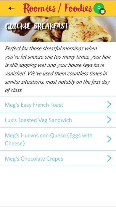 Roomies Foodies: Easy Cooking for Desi Students Screenshot