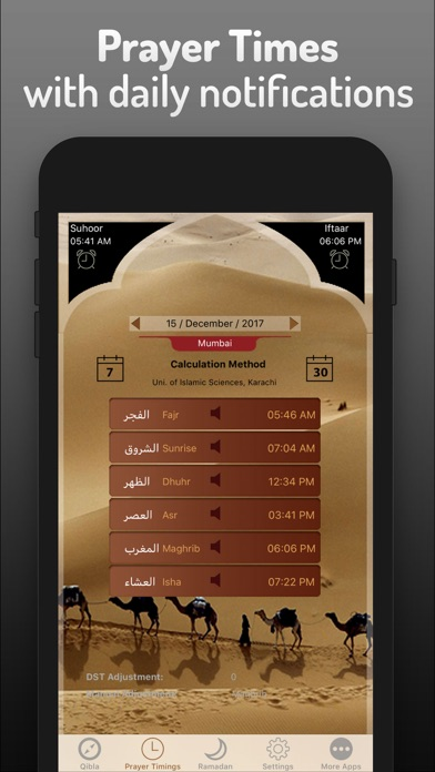 Islamic Qibla - Prayer Times screenshot 2