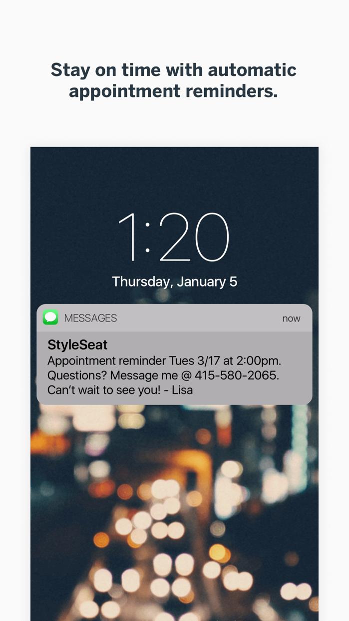 StyleSeat Screenshot
