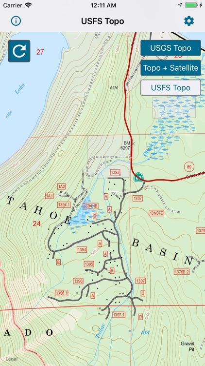 Topographic Maps & Trails