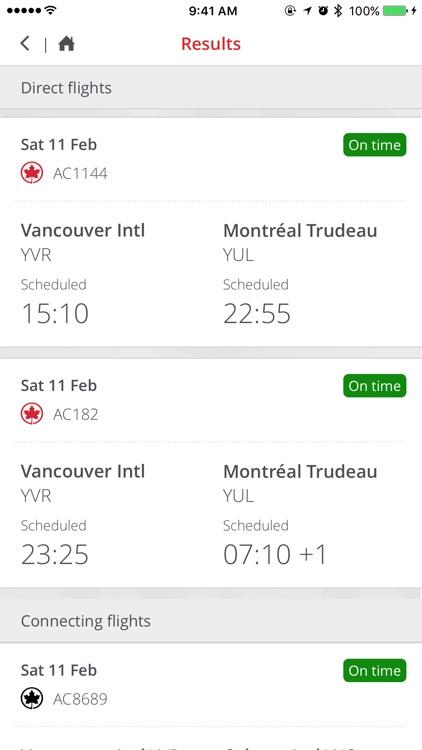 Air Canada screenshot-3
