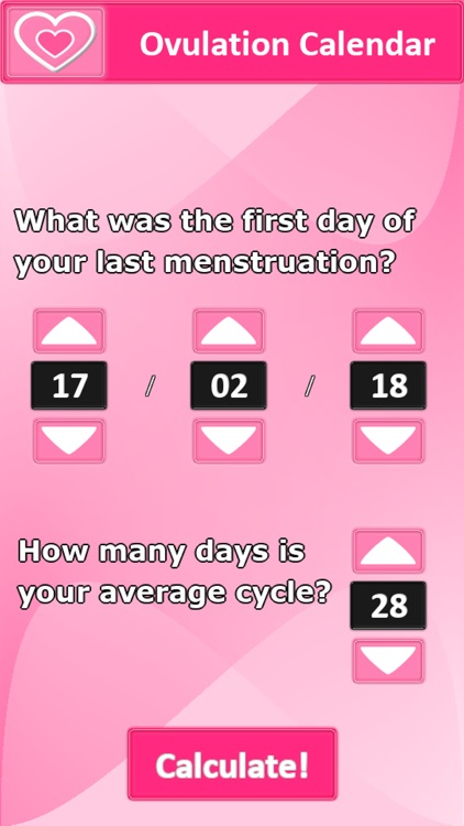 Ovulation Calendar screenshot-0