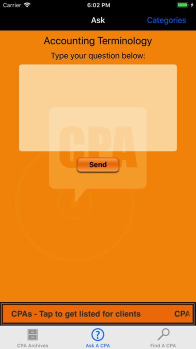 ASK A CPA Tax AnswersScreenshot of 3