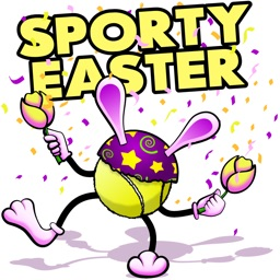 Easter Tennis Stickers