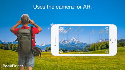 PeakFinder AR Screenshots