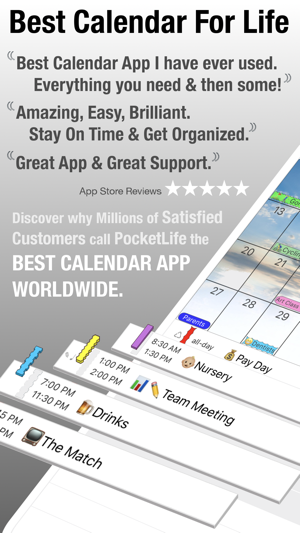 PocketLife Calendar on the App Store