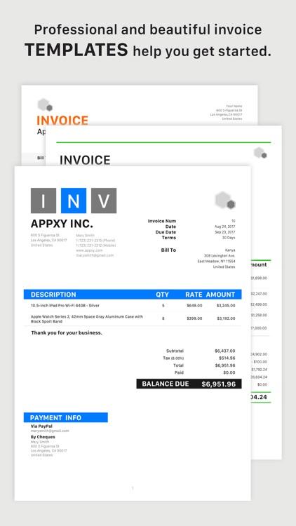 Tiny Invoice screenshot-0