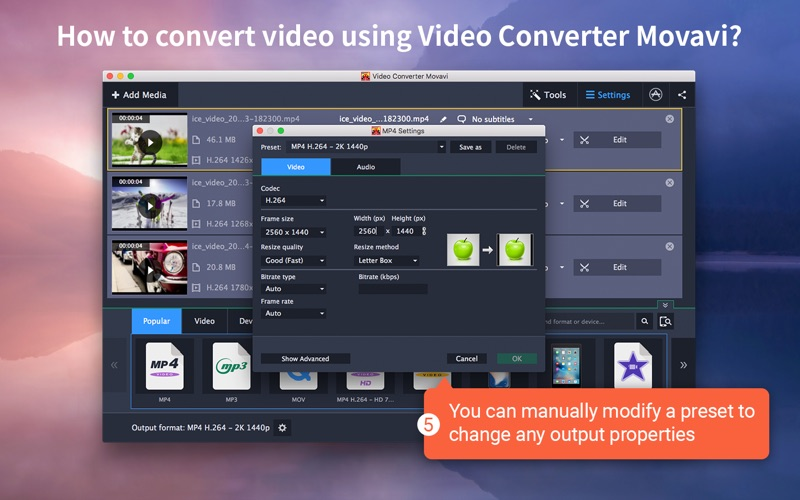 Video Converter Movavi Screenshots