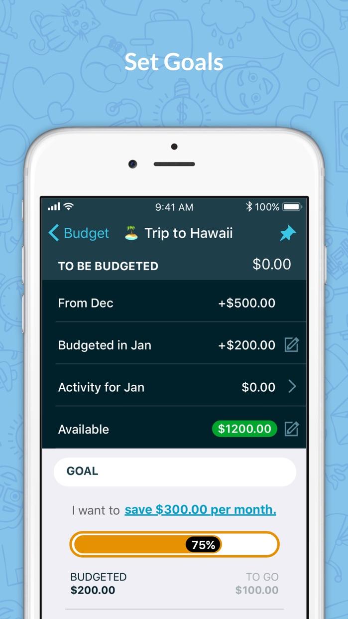 YNAB (You Need A Budget) Screenshot