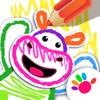 、少儿画画游戏婴儿童游戏早教幼儿游戏涂色动物宝宝3岁-6岁