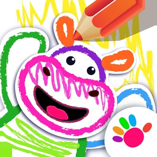 Рисовалка для детей! Раскраска