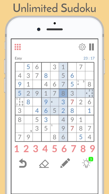 Sudoku Puzzles. screenshot-0