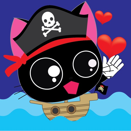 Pirate Kitties Stickers