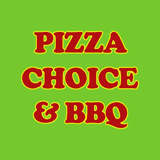 Pizza Choice & BBQ