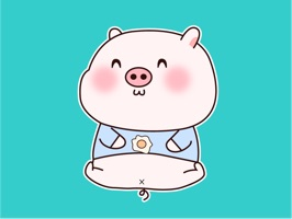 Smiley Pig Animated Stickers