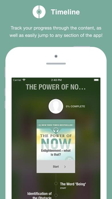 Power of Now - Audio Screenshot