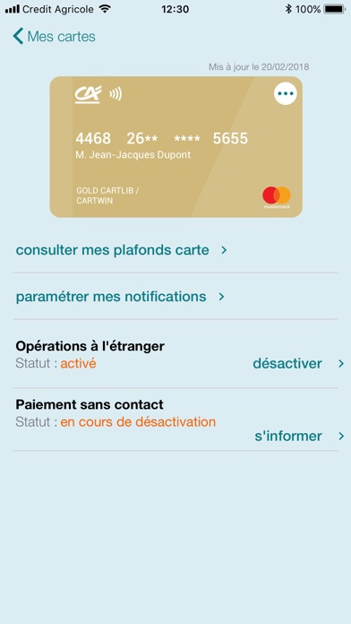 download Ma Carte CA apps 2