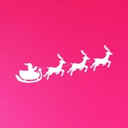 Santa Claus Snowball Fight