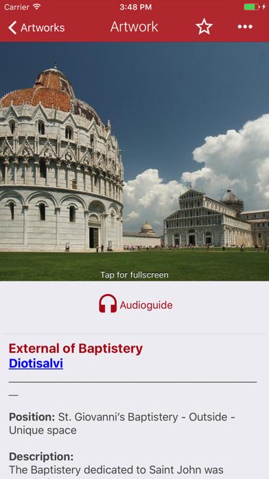 Pisa Miracles Guide screenshot four