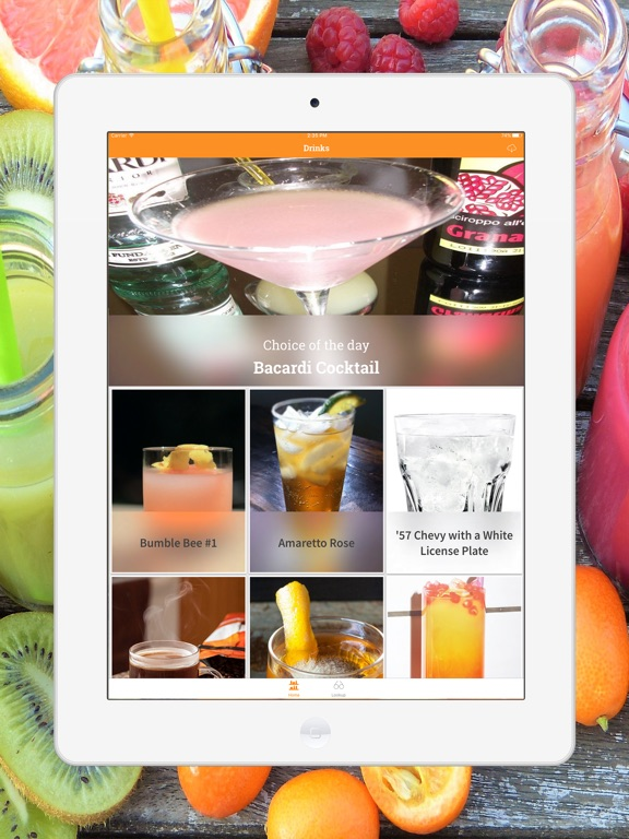 Mix Drink, Cocktail & Smoothie Screenshots